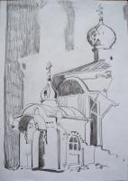 Архитектурное кружево. 30х20. 2013 г.