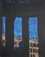 Колоннада Казанского собора. 60х50. 2012 г.