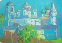 Никитский монастырь. 20х30, 2016г.