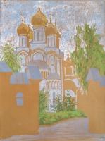 Никольский монастырь. 50х37 2016г.