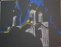 Никольский собор. 50х60. 2012 г.